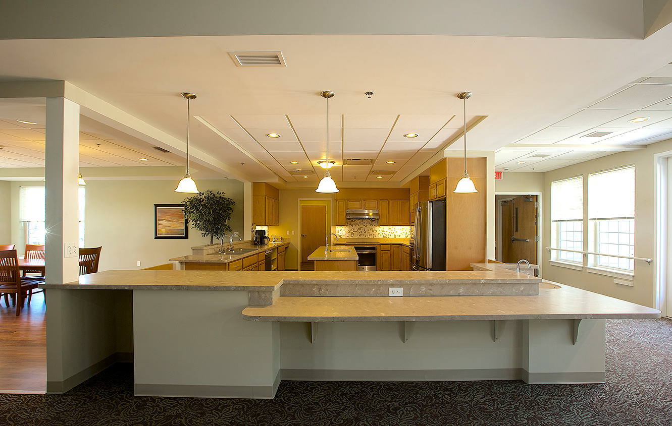 beautiful kitchen - Garden Grove Nursing Home